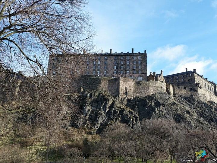 Castelo - Edimburgo - Escocia