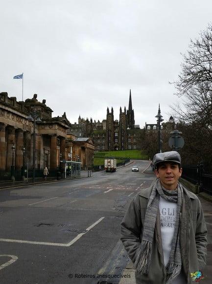 George St - Edimburgo - Escocia