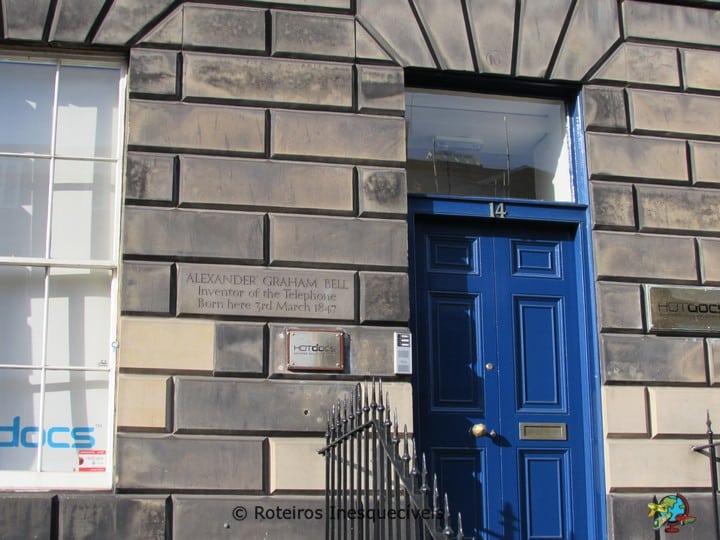 Alexander Graham Bell House - Edimburgo - Escocia