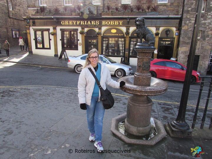 Greyfriars Bobby - Edimburgo - Escocia