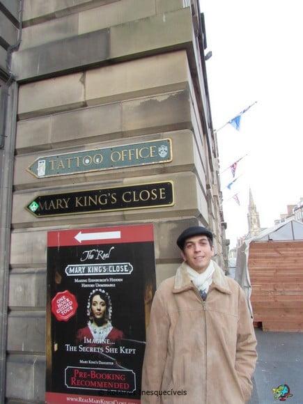 Mary Kings Close - Edimburgo - Escocia