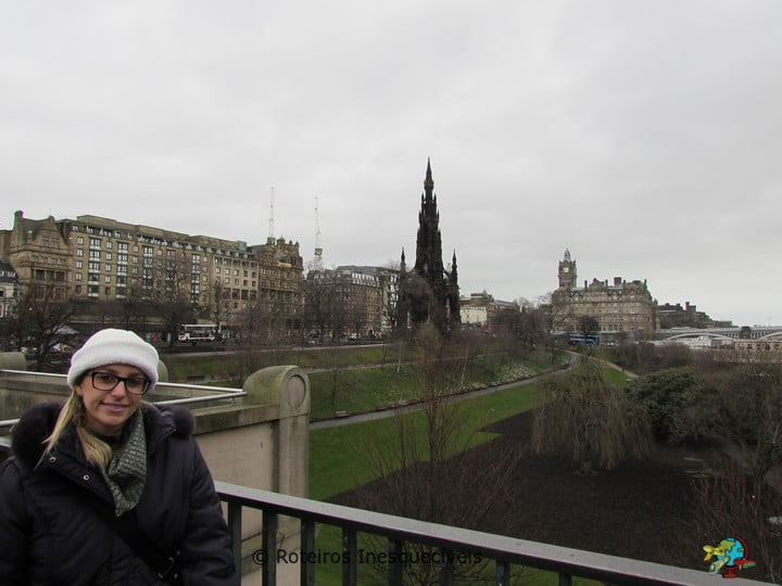 Princes St Gardens - Edimburgo - Escocia
