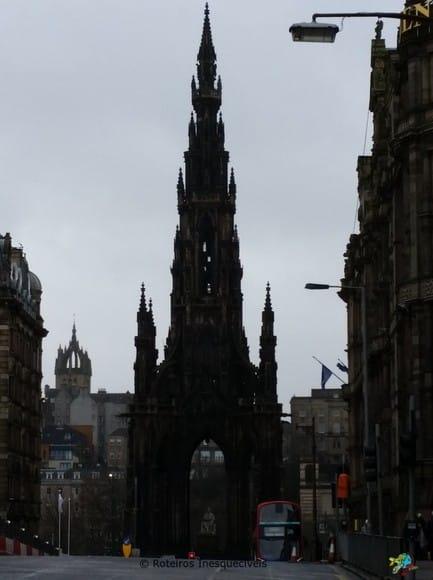 Scott Monument - Edimburgo - Escocia