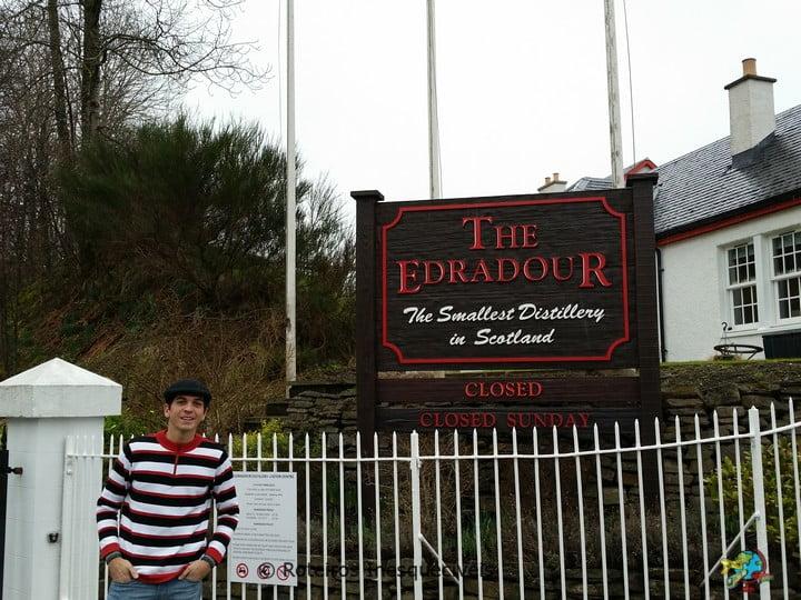 Destilaria Edradour - Highlands - Escocia