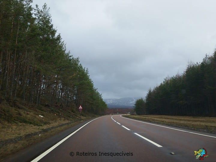 Estrada - Highlands - Escocia