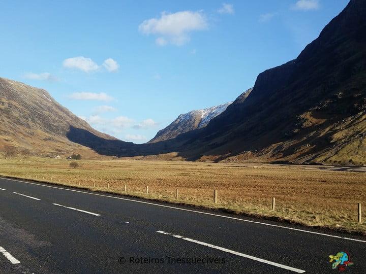 Glencoe Valley - Highlands - Escocia