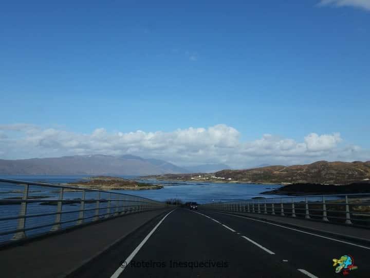 Ponte - Ilha de Skye - Escocia