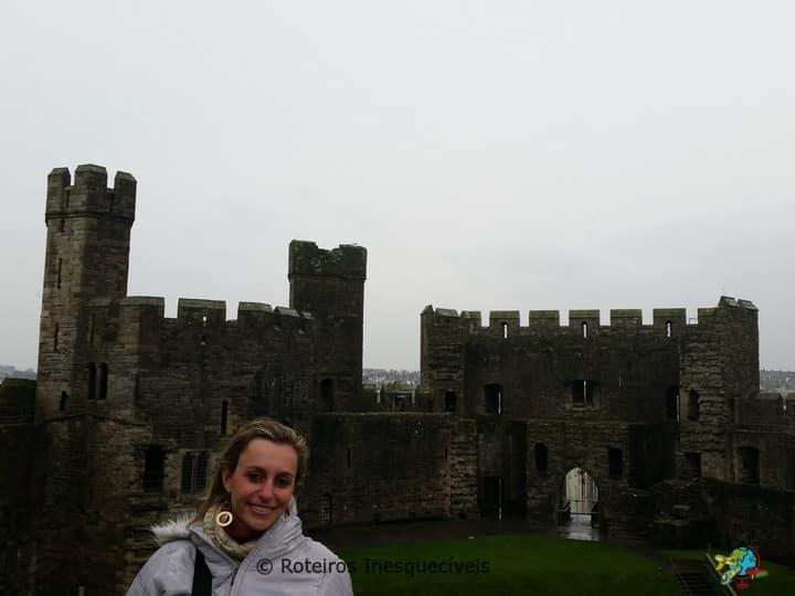 Castelo de Caernarfon - Pais de Gales - Reino Unido