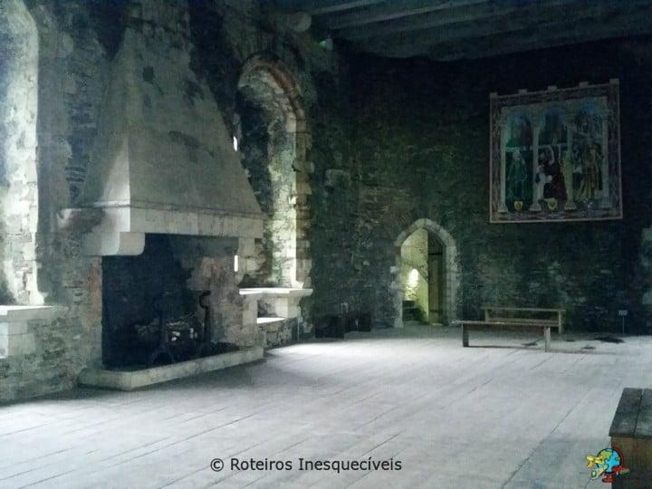Castelo de Caerphilly - Castelos no Pais de Gales - Reino Unido