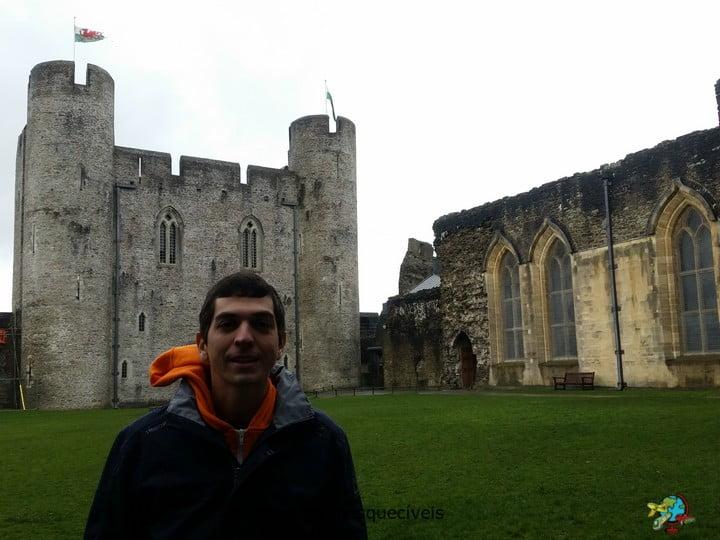 Castelo de Caerphilly - Pais de Gales - Reino Unido