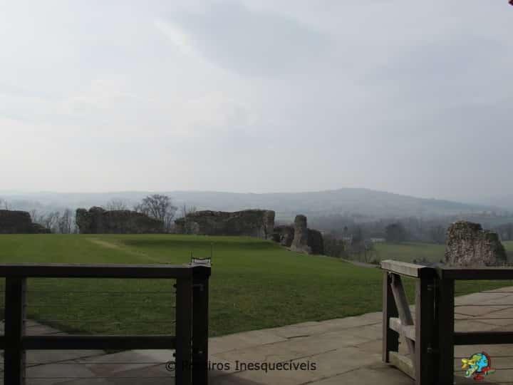 Castelo de Denbigh - Pais de Gales - Reino Unido