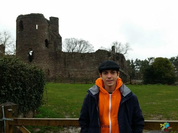 Castelo de Grossmont - Pais de Gales - Reino Unido
