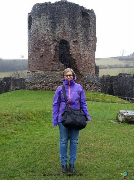 Castelo de Skenfrith - Pais de Gales - Reino Unido