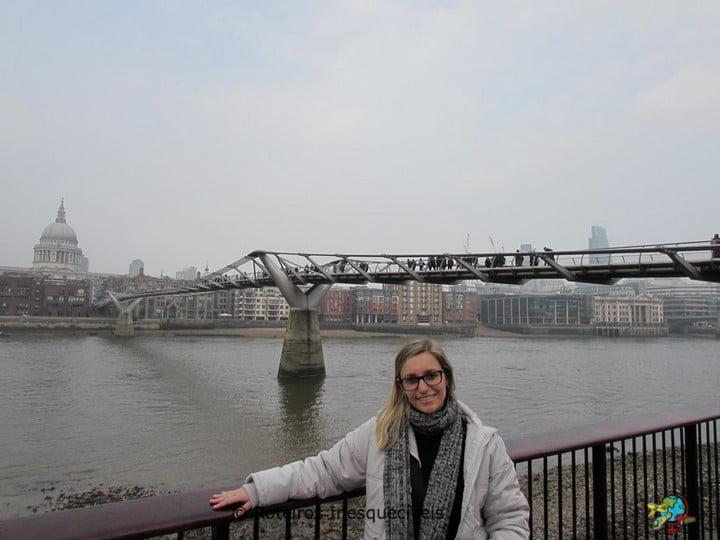 Millenium Bridge - Londres - Inglaterra