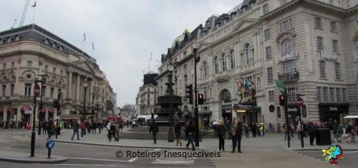 Piccadilly Circus - Londres - Inglaterra