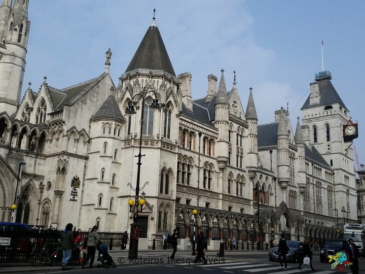 Royal Court of Justice - Londres - Inglaterra