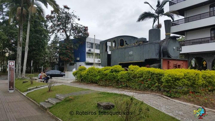 Locomotiva Macuca - Blumenau - Santa Catarina