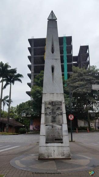 Marco Zero - Blumenau - Santa Catarina