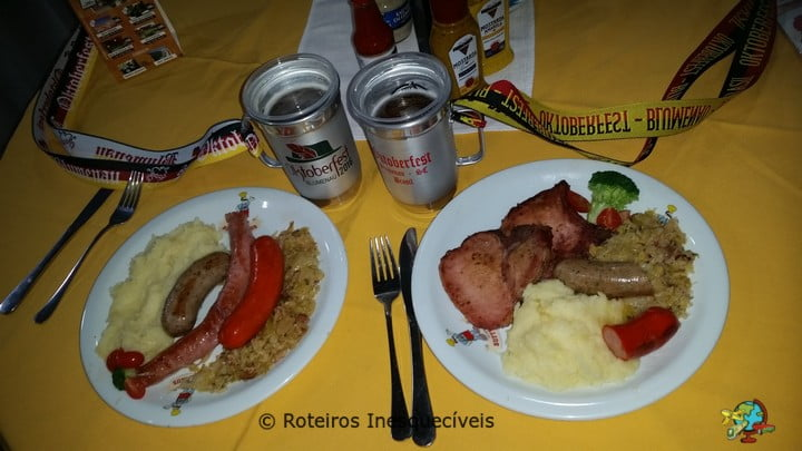 Comidas Tipicas - Oktoberfest - Blumenau - Santa Catarina