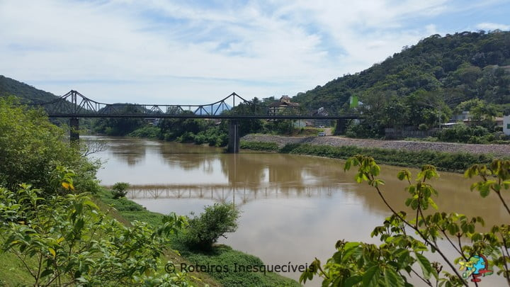 Ponte Aldo Pereira - Blumenau - Santa Catarina