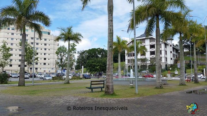 Praca Sesquincentenario - Brusque - Santa Catarina