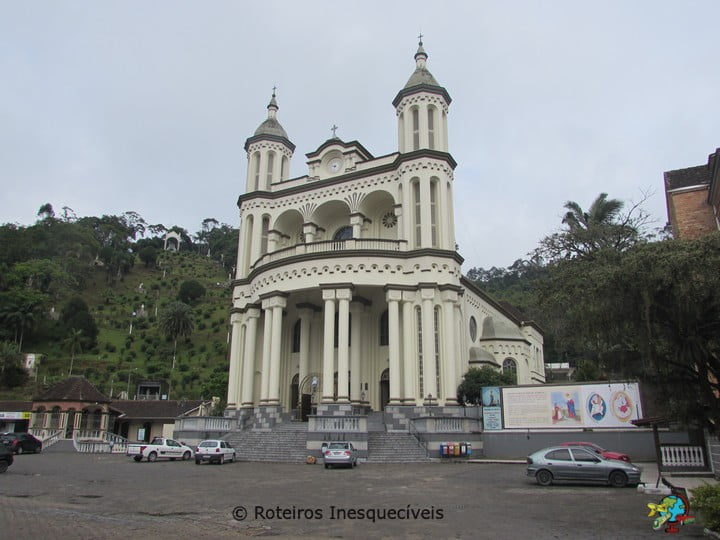 Santuario de Nossa Senhora de Azambuja - Brusque - Santa Catarina