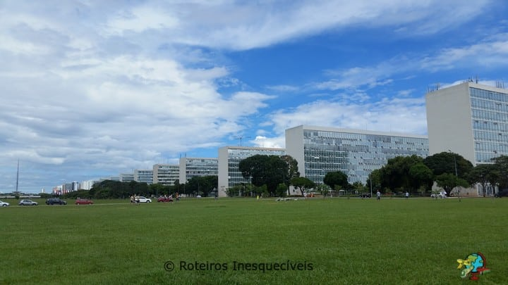 Esplanada dos Ministerios - Brasilia