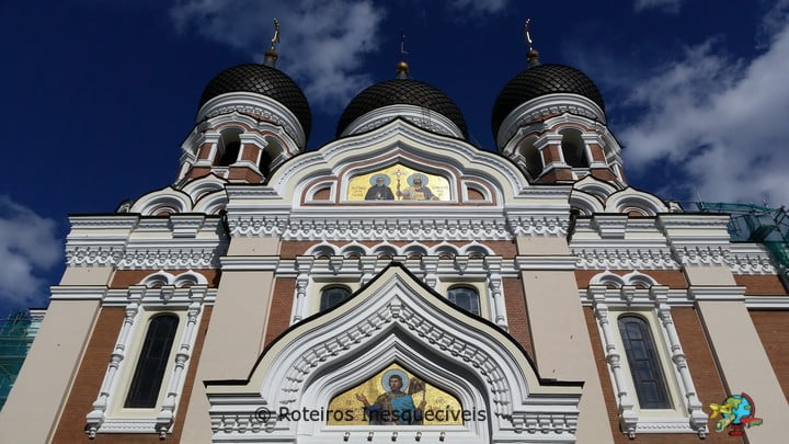 Alexander Nesvky Cathedral - Tallinn - Estonia