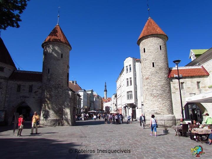Viru Gate - Tallinn - Estonia