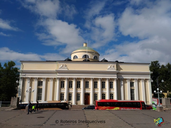 Biblioteca - Helsinki - Finlandia