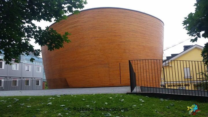 Kamppi Chapel - Helsinki - Finlandia