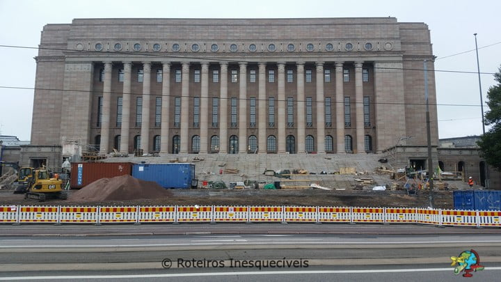 Parlamento - Helsinki - Finlandia