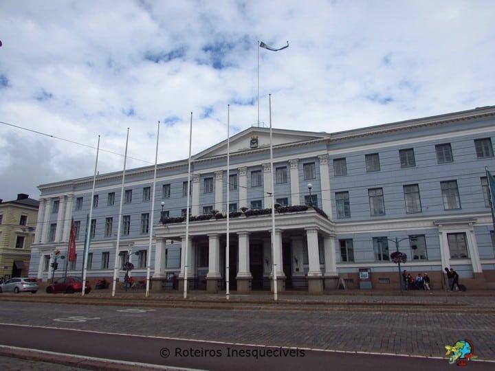 Prefeitura - Helsinki - Finlandia