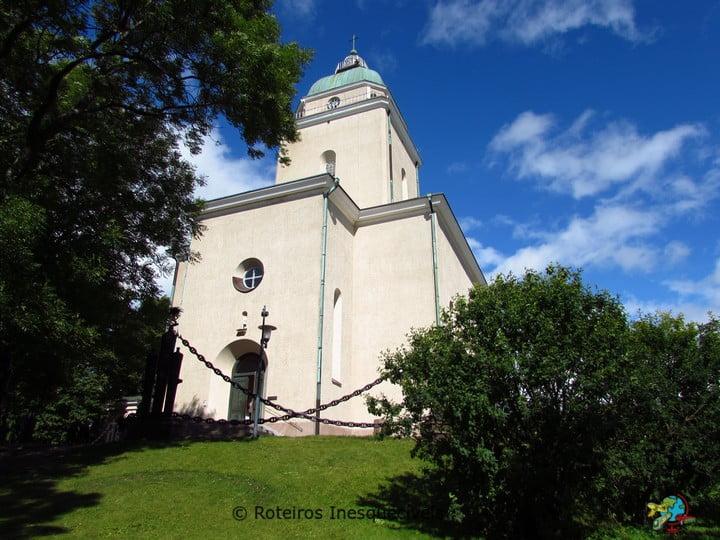 Igreja - Suomenlinna - Helsinki - Finlandia