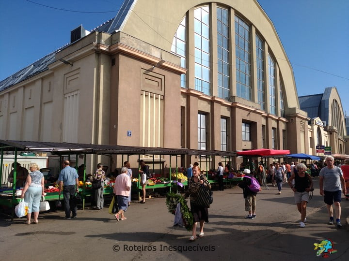 Mercado Central - Riga - Letonia
