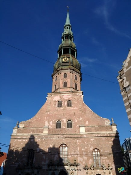 St Peter Church - Riga - Letonia