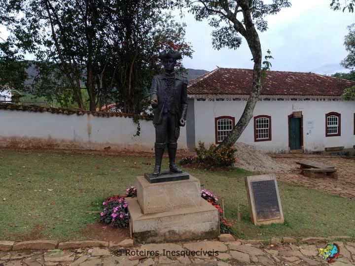 Estatua - Tiradentes - Minas Gerais