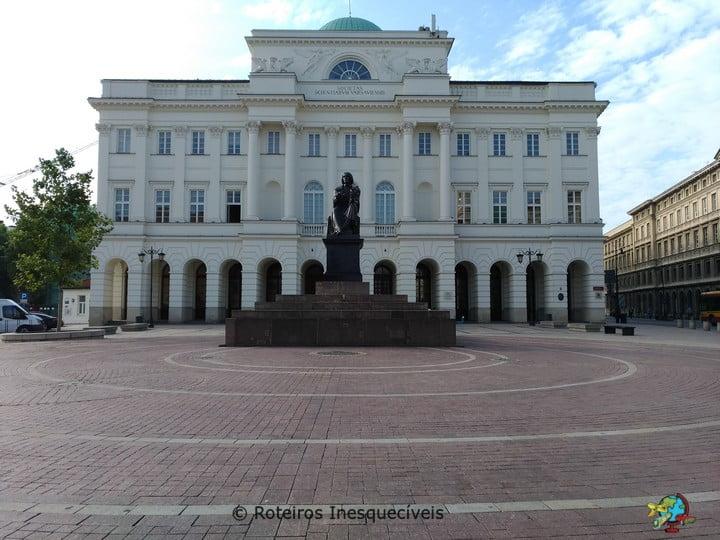 Copernicus Square - Varsovia - Polonia
