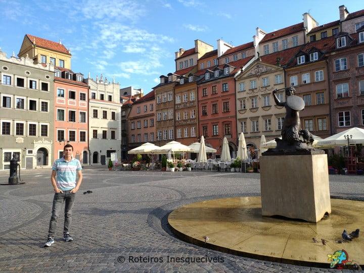 Rynek Starego Miasta - Varsovia - Polonia