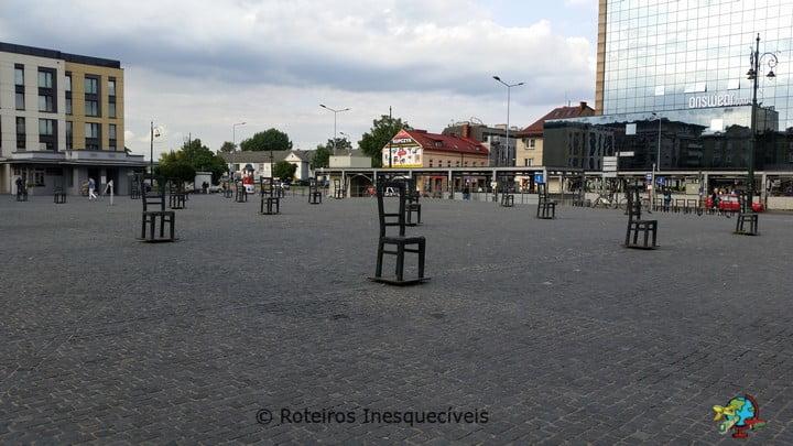 Plac Bohaterów Getta - Cracovia - Polonia