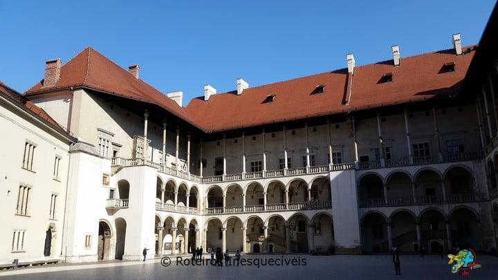 Palacio - Castel de Wawel - Cracovia - Polonia
