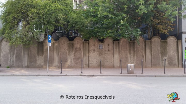 Muro do Gueto - Cracovia - Polonia
