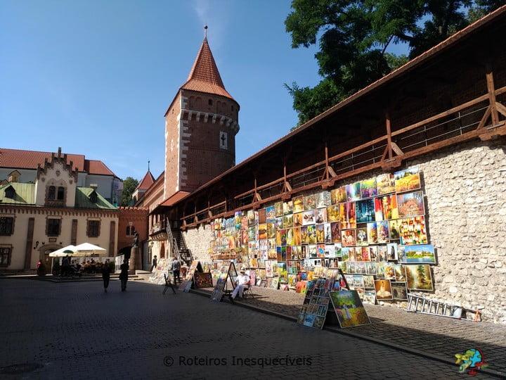 Muralha - Cracovia - Polonia
