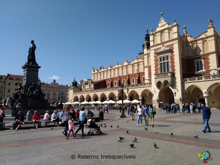Sukiennice - Cracovia - Polonia