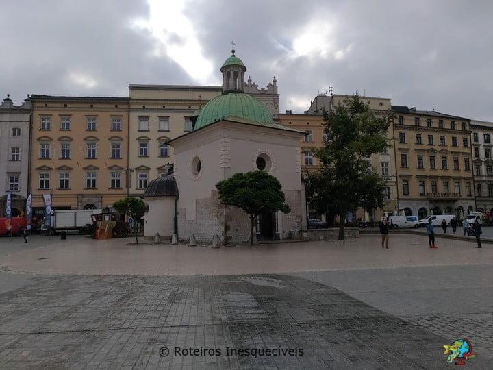 Kościół Świętego Wojciecha - Cracovia - Polonia