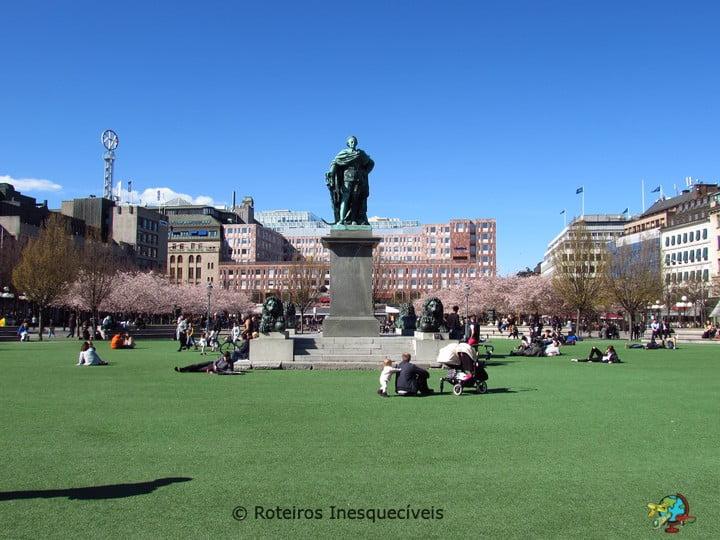Kungstradgarden - Estocolmo - Suecia