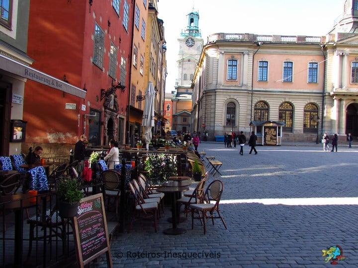 Stortorget - Estocolmo - Suecia
