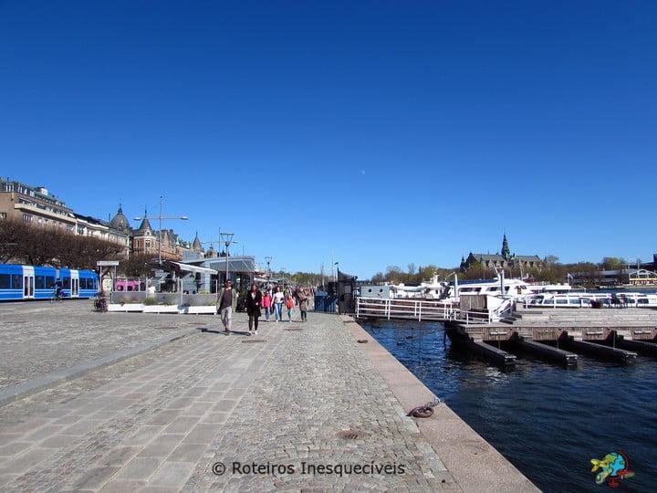 Strandvagen - Estocolmo - Suecia