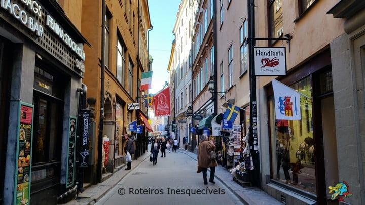 Vasterlanggatan - Estocolmo - Suecia