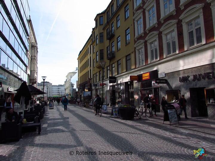 Rua Sodergatan - Malmo - Suecia